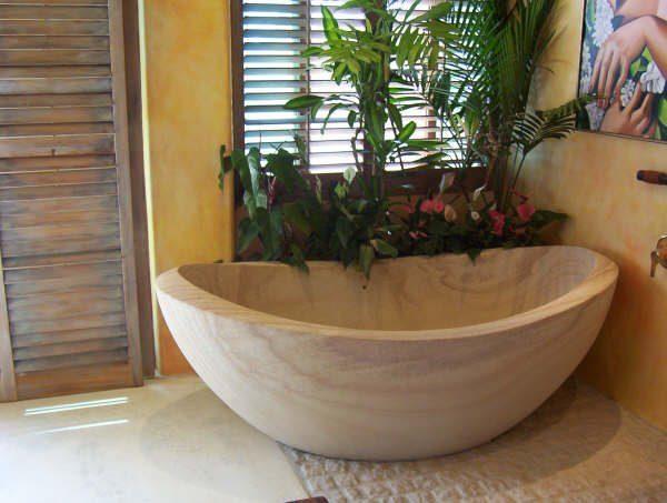 Baths & Vanities Stone Carving - Matt Bath - Stonemason / Sculpture